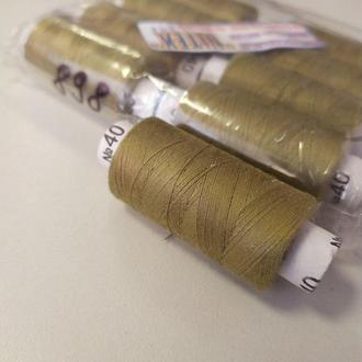Цвет:898 Нитки в катушках, швейные 100% полиэстер 40/2 (боб 200м) (ВЕЛЛ-429)