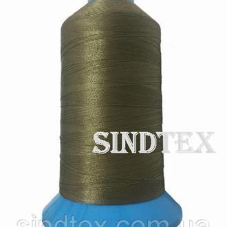 Нить повышенной прочности 100% РЕ 40 цв S-367 хаки (боб 3000ярдов) 420 Nitex, боб (ВЕЛЛ-430)