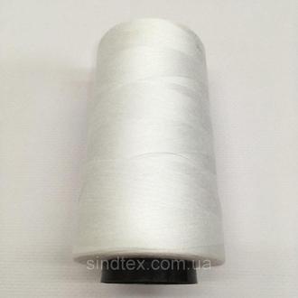 Нить швейная 100% PE 50/2 цв белый NITEX (ВЕЛЛ-448)