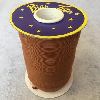 Хлопковая косая бейка,1,5см - 50% полиэстер (100м), цвет 029 (657-Л-0644)