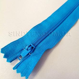 Молния брючная 18 см, синяя (6-2426-В-171)