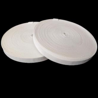 Широкая бельевая резинка для одежды белая 1,5 см х 22,5 (СИНДТЕКС-0052)