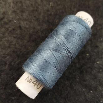 Нитки в катушках, швейные 100% полиэстер 40/2 (боб 200м) (РАВ-182)