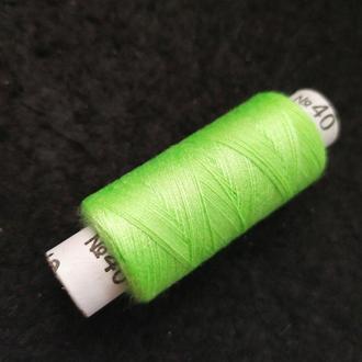 Нитки в катушках, швейные 100% полиэстер 40/2 (боб 200м) (РАВ-304)