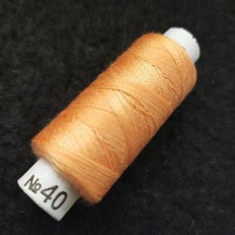 Нитки в катушках, швейные 100% полиэстер 40/2 (боб 200м) (РАВ-312)