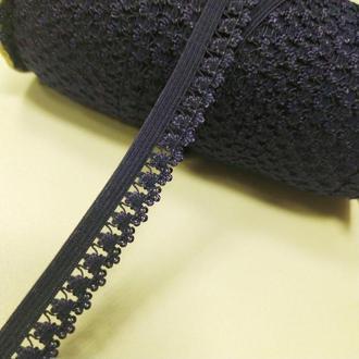 Резинка для пошива нижнего белья (отделочная) 13мм на метраж синяя (ПИ8-003)