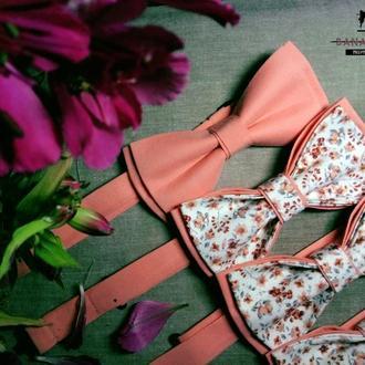 Set of bow-ties with print | Комплект галстук-бабочек с принтом