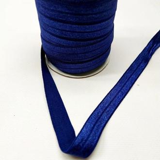 А-120 Трикотажная косая бейка (стрейч. эластичная) 1,5см х 50ярдов (синий) (СИНДТЕКС-0260)
