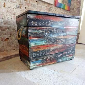 ящик лофт цветной