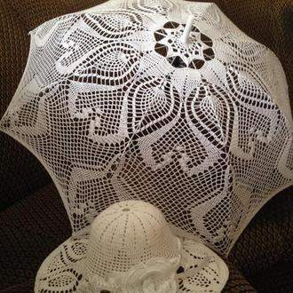 Зонт и шляпа