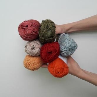 Пряжа шерсть с твидом, Knit Picks