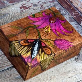 "Шкатулка ""Butterfly""."