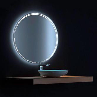 Дзеркало з підсвічуванням Місяць