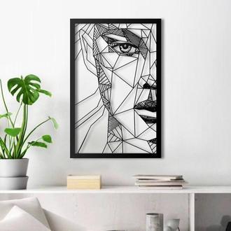 """Картина-панно """"Абстрактное лицо"""""""