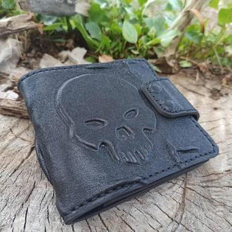 Мужской коожаный кошелек