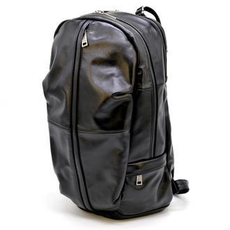 Мужской кожаный городской рюкзак TARWA GA-7340-3md черный