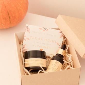 Подарочный набор Gold Autumn крем и серум для лица