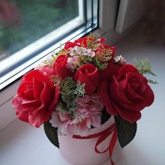 """Мыльная композиция """"Розы"""""""