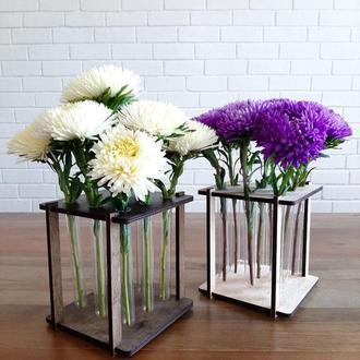 Ваза для цветов, подставка под колбы