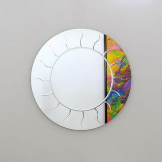 Зеркало интерьерное круглое Sunset d920mm, SKLO+GLAS