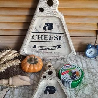 "Набор сервировочных досок для сыра ""CHEESE"" на заказ"