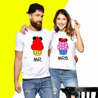 Парные футболки Push IT с принтом  CupCake MRS ФП000070