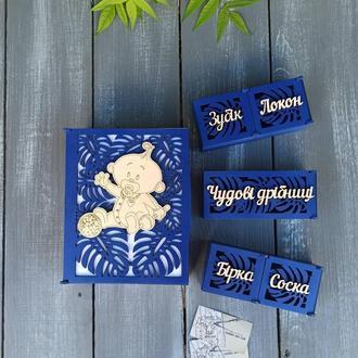 Деревянная шкатулка для маминых сокровищ, шкатулка для хранения мелочей