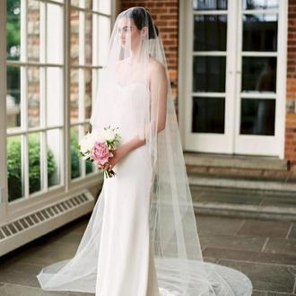 Свадебная фата, вуаль.