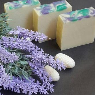 Натуральное мыло с нуля. Нежная сирень (шелковое)
