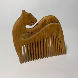 """Гребень деревянный для волос """"Пума"""""""