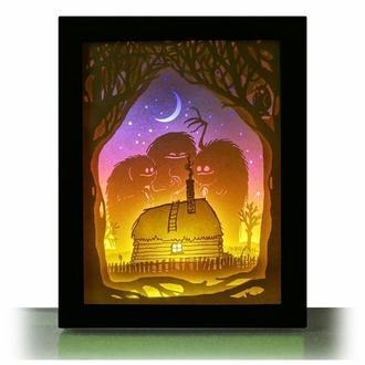 Ночные страхи -  Lightbox, ночник, лампа, светильник.