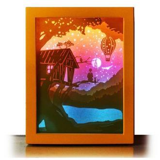 Домик мечты - Lightbox, ночник, лампа, светильник.