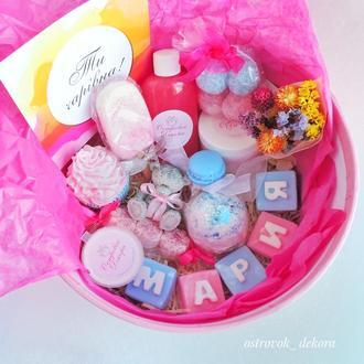 """Подарочный набор """"Нежность VIP именной подарок, для девушки, подруги, сестры, коллеги, дочери,  жены"""