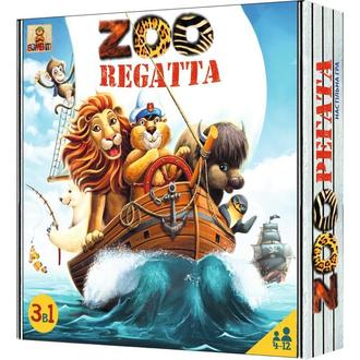 Настольная игра ЗООрегата (ZOOregatta)