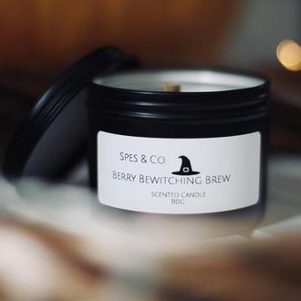 Berry Bewitching Brew- ароматизированная свеча из соевого воска