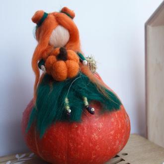 Кукла мини на Хеллоуин