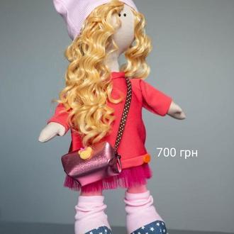 Кукла Тильда большеножка 42см