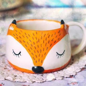 Чашечка-лисичка