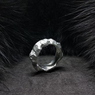 кольцо Silver stones, мужское кольцо, украшения для мужчин, олово, медь, серебро
