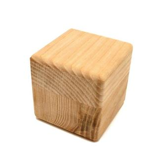 Деревянная Заготовка Основа для Бизикубика 5 см БИЗИКУБИК из Ясеня 50 мм дерев'яний БІЗІКУБИК Ясень