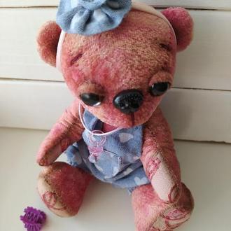 """Розовый мишка Тедди """"Малышка""""."""