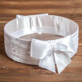 Весільне сито для осипания молодих біле