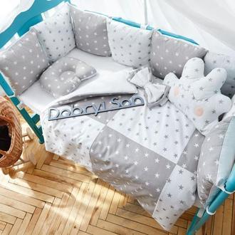 """Комплект """"Облако"""" для новорождённых в кроватку Добрый Сон"""