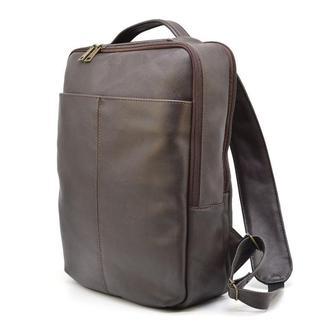 Кожаный мужской рюкзак коричневый TARWA GC-7280-3md