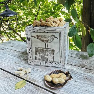 Деревянный ящик для фруктов