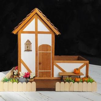 Немецкий чайный домик с конфетницей в Фахверковом стиле