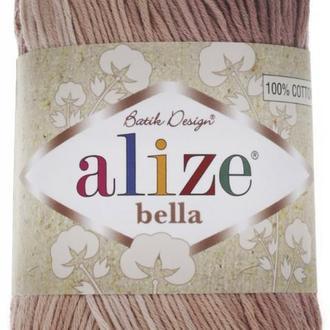 Alize bella batik 1815 Нитки для вязания летняя пряжа для декора салфеток юбок игрушек бактусів