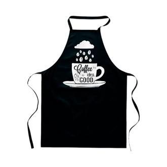 """ФА000079 Фартук с принтом """"Чашка кофе"""""""