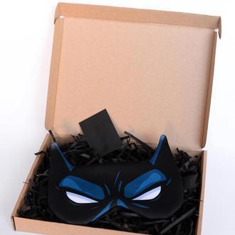 Дизайнерская Маска для сна Silenta Marvel Бэтмен