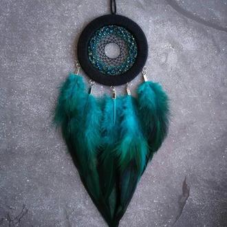 Ловец снов изумрудного цвета